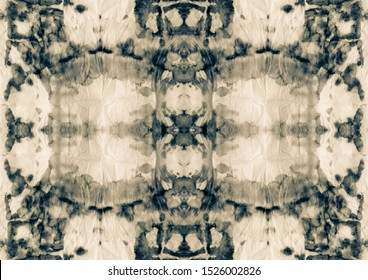 Beige Fabric Design. White Brown Aquarelle Texture. Gray Artistic Canva. Sepia Graffiti Style. Old Pale Ink Texture. Black Grey Ogee Motif. White Brown Sepia Dyed Fabric Ink.