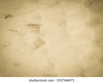 Beige Vintage Paper Texture. Warm Aquarelle Brush. Brown Rustic Wallpaper. Dark Warm Handmade Design. Cream Vintage Paper Banner. Green Grey Yellow Old Structure. Pale Rustic Canvas.