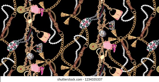 belt and chain unity pattern