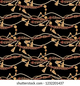 belt and rope mix pattern