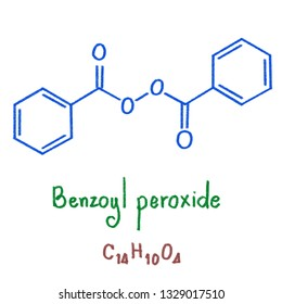 Benzoyl peroxide is a medication and industrial chemical. As a medication, it is used to treat mild to moderate acne. For more severe cases, it may be used with other treatments. illustration