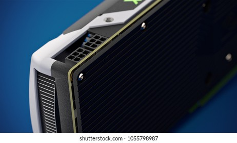BERLINGERMANY March 20 3 D Illustration Nvidia Stock