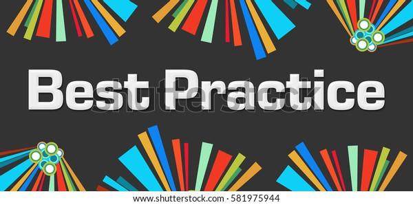 Best Practice Dark Colorful Elements