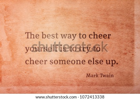 Royalty Free Stock Illustration Of Best Way Cheer Yourself Try Cheer