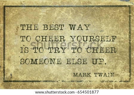 Best Way Cheer Yourself Try Cheer Stock Illustration Royalty Free
