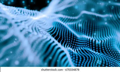 beutiful wave abstract background,blue color