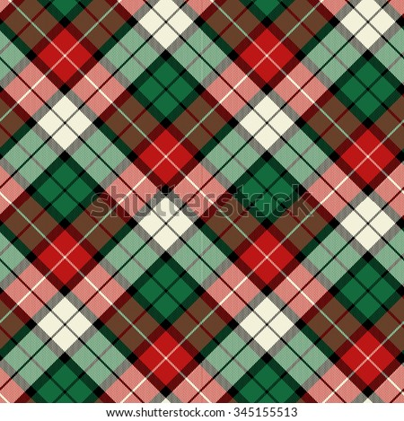 bias christmas plaid - Christmas Plaid
