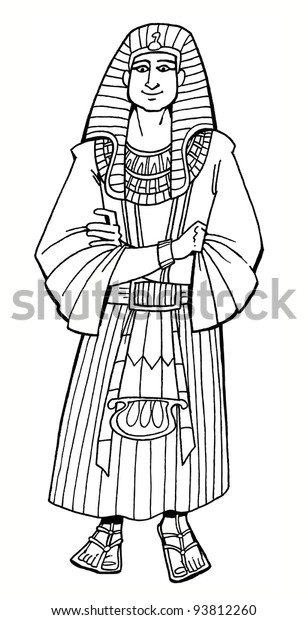 Download or print this amazing coloring page: Pharaoh's Dreams | Bible - Coloring  Pages | Bible coloring pages ... | 620x308