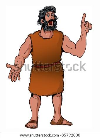 Bible hero prophet Elijah
