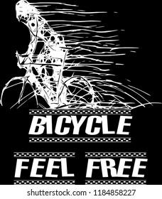 bicycle illustration feel free