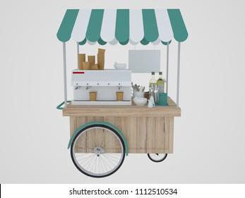 Similar Images, Stock Photos & Vectors of Street food cart