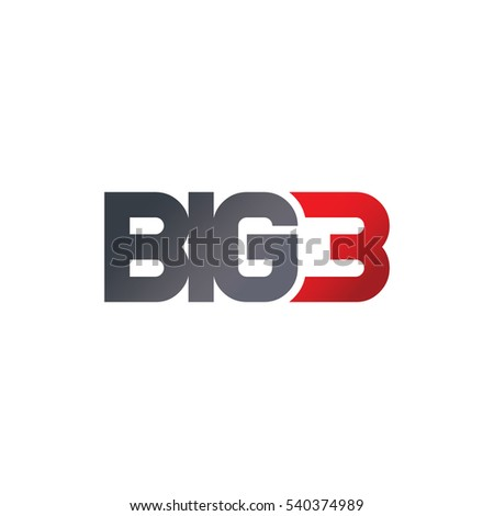 big 3 letter number logotype colorのイラスト素材 540374989