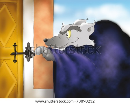the wolf at the door big bad wolf