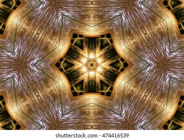 Big Bang, geometric composition of a three-dimensional space, abstract photography , abstract surrealism, golden, background, decorative, kaleidoscopic, artistic, fantasy, magic, space,original