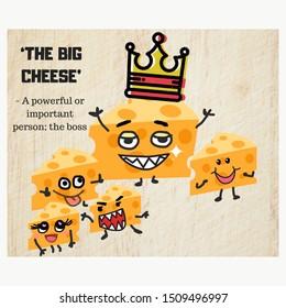 The big cheese: English idioms