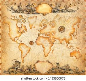 Ancient Maps Images, Stock Photos & Vectors | Shutterstock