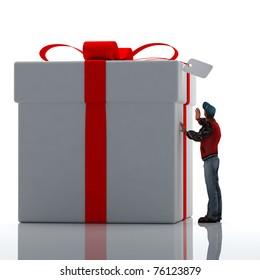 Big gift.