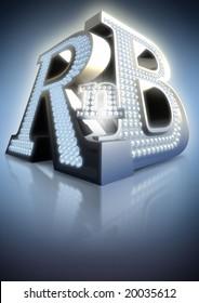 big letters R'n'B