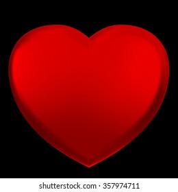 big red heart Images, Stock Photos & Vectors | Shutterstock
