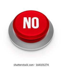 Big red no button