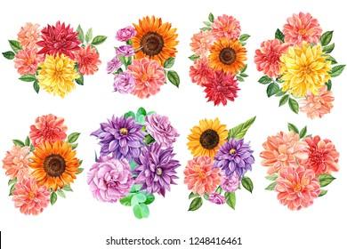 Kvetiny Rostliny Kresba Stock Illustrations Images Vectors
