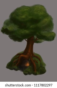 Big tree design