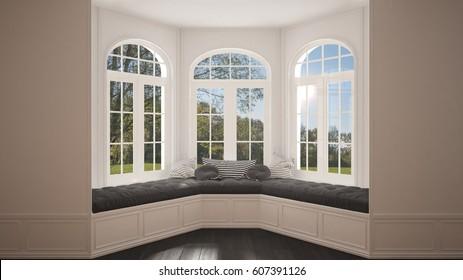 Bay Window Images Stock Photos Vectors Shutterstock Best Bay Window Exterior Pictures Minimalist Interior