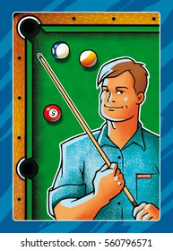 Billiard player