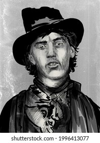 Billy the Kid  born Henry McCarty also known by the pseudonym William H. Bonney, was an outlaw and gunfighter of the American Old West
