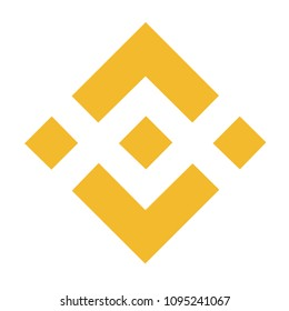 Binance Coin crypton coin currency illustration