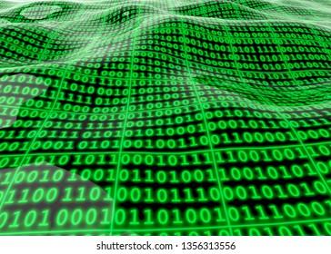 Binary Numbers - 3D