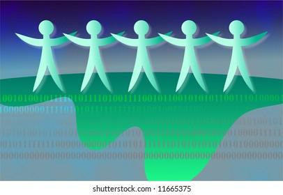 binary team