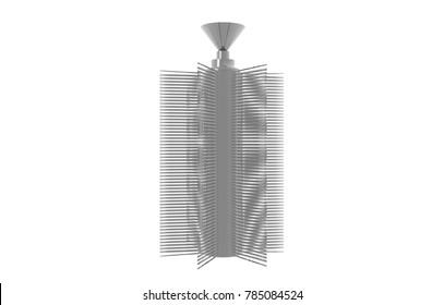 bioreactor 3D rendering