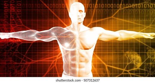 Biotechnology or Biology Technology Biotech as Concept 3d Illustration Render