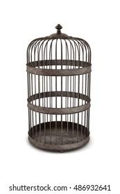 Bird Cage 3D Rendering