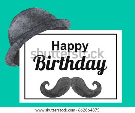 Birthday Card For Man Happy