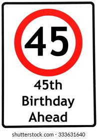 45th birthday Royalty Free 45th Birthday Stock Images, Photos & Vectors  45th birthday