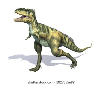 The Bistahieversor was a dinosaur thatlived during the Cretaceous period - 3D render.