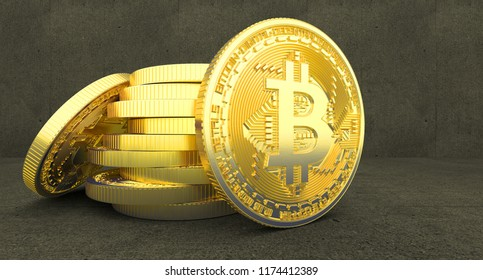 Bitcoin 3 d