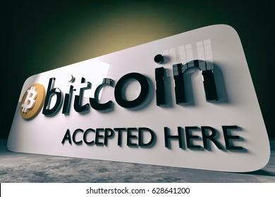 Bitcoin - 3D illustration