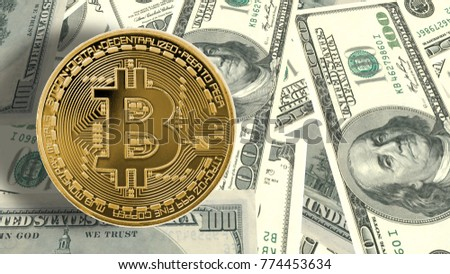 Bitcoin Cryptocurrency Worldwide Decentralized Digital Currency