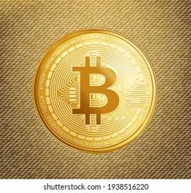 bitcoin slider banner design template