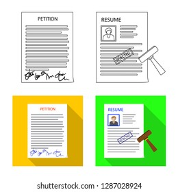 bitmap design of form and document logo. Collection of form and mark bitmap icon for stock.