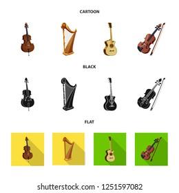 bitmap design of music and tune icon. Collection of music and tool stock bitmap illustration.