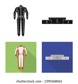 bitmap illustration of car and rally symbol. Collection of car and race stock bitmap illustration.