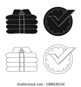 bitmap illustration of laundry and clean icon. Collection of laundry and clothes bitmap icon for stock.