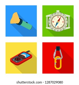 bitmap illustration of mountaineering and peak symbol. Collection of mountaineering and camp bitmap icon for stock.