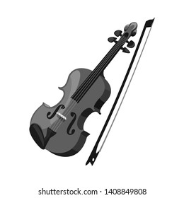 bitmap illustration of music and tune logo. Collection of music and tool stock symbol for web.