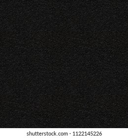 Black asphalt with fine grain, seamless texture. Close-up of black road background. Perfect repeatable pattern