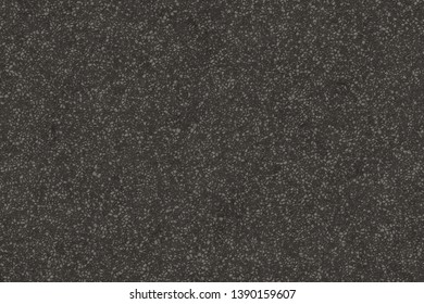 Black asphalt texture. Tarmac dark grey grainy road background. Top view grunge rough surface